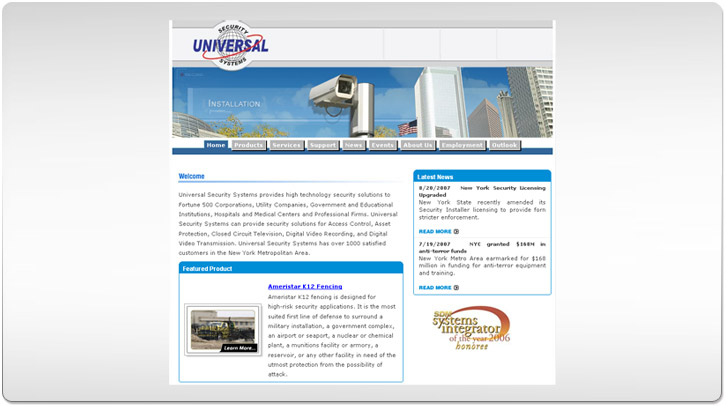 Universal Security Systems Design Concept by Chris Ilagan
